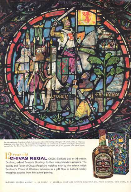 Chivas Regal Whisky Bottle (1959)