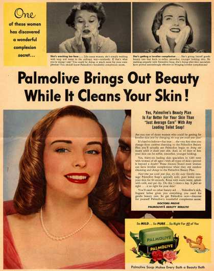 Palmolive Company's Palmolive Soap – Palmolive Brings Out Beauty While It Cleans Your Skin (1952)