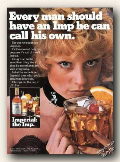 Imperial Whiskey Every Man Should Have His Own (1975)