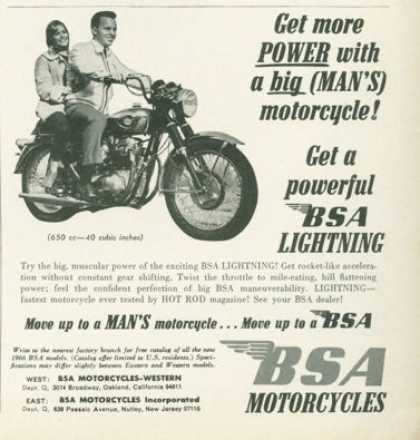 Bsa Lightning Motorcycles (1966)