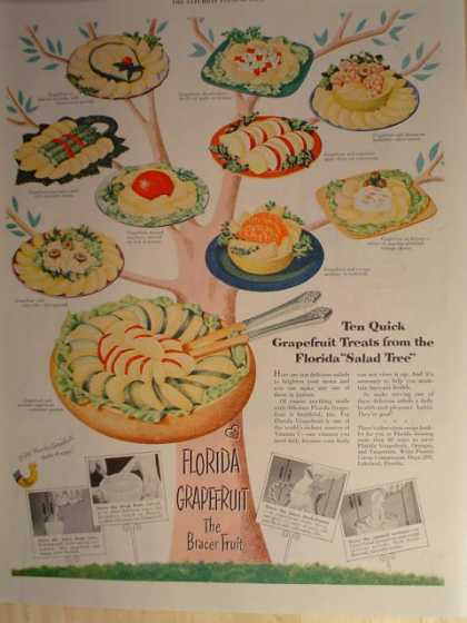 Florida Grapefruit promotional (1952)