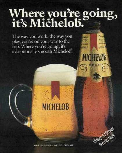 """Where You're Going, It's Michelob"" Beer (1985)"