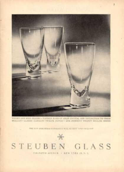 Steuben Crystal Glass (1952)