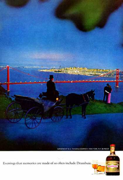 Drambuie Horse & Carriage Ride Golden Gate (1972)