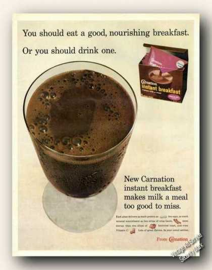 Carnation Instant Breakfast Nice Color (1967)
