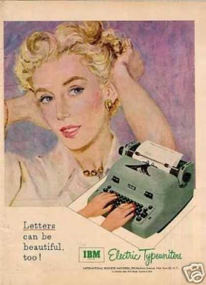 Ibm Electric Typewriter (1953)