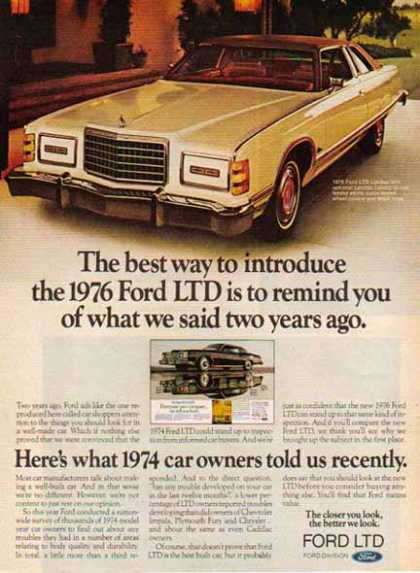 Ford Car – Ford LTD / 2 tone Tan (1976)