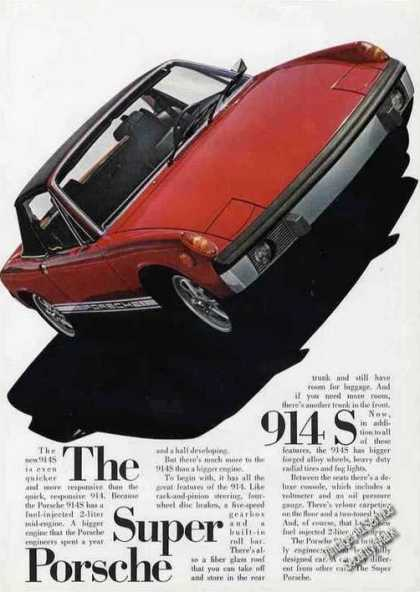 Super Porsche 914s Impressive Glamour Photo Car (1973)