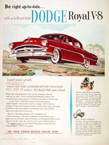 Dodge Royal Sedan #1 (1954)