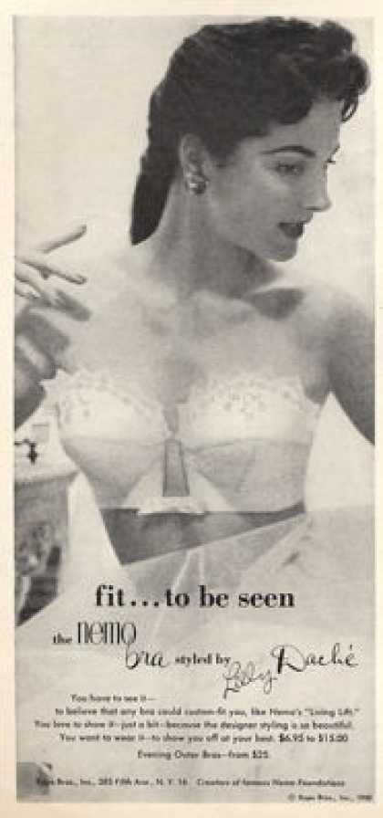 Lilly Dache Nemo Fashion Bra (1953)