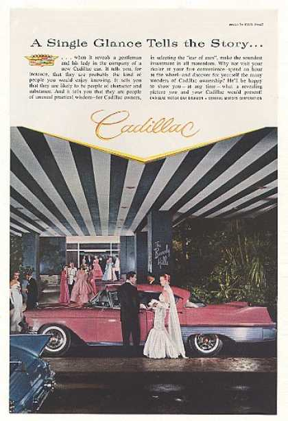 Cadillac The Beverly Hills Hotel Single Glance (1957)