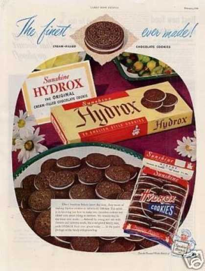 Sunshine Hydrox Cookies (1949)