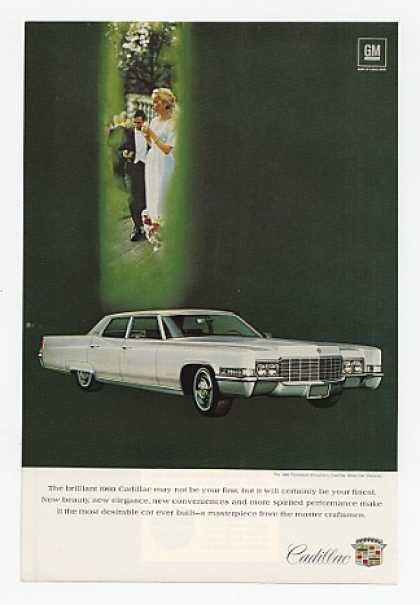 '68 1969 Cadillac Fleetwood Brougham Will Be Finest (1968)