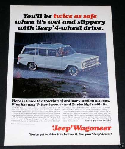 Jeep Wagoneer, Twice As Safe (1965)
