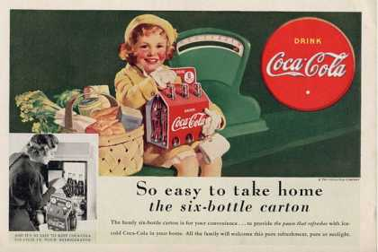 Coke Grocery Market Little Girl T (1938)