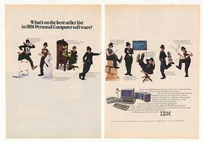 IBM Personal Computer Software Little Tramp 2-P (1984)
