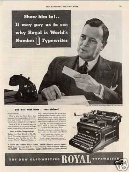 Royal Typewriter (1936)