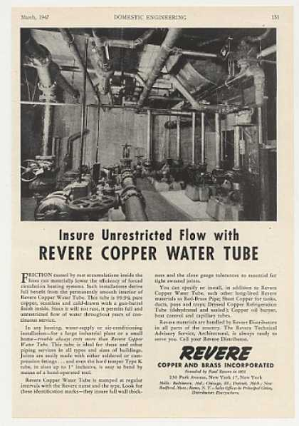 Revere Copper Water Tube Heating System (1947)