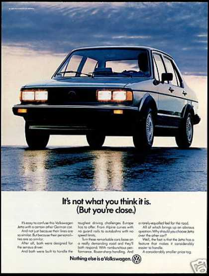 Volkswagen VW Jetta 4 Dr Car Photo (1982)