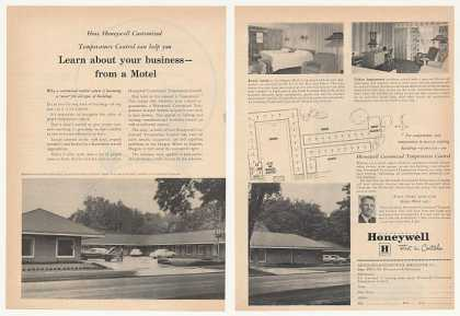 Oregon Motel Eugene OR Honeywell Controls (1953)