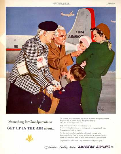 American Airlines – Something for Grandparents to Get Up in the Air About... (1951)