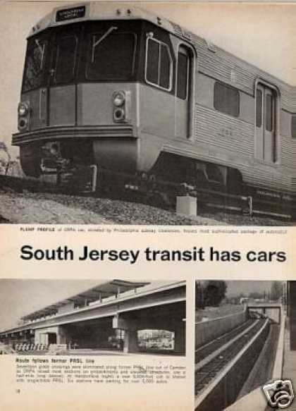 """South Jersey Cars for New Service"" Article/drpa (1968)"