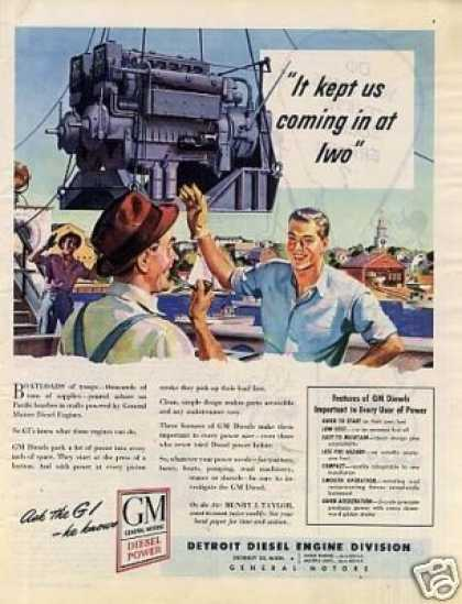Gm Detroit Diesel Engine (1946)