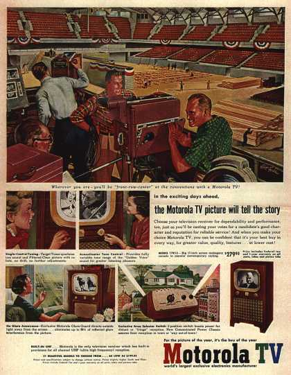Motorola's Television – The Motorola TV picture will tell the story (1952)