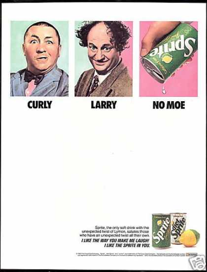 Sprite By Coca Cola 3 Stooges No Moe (1990)
