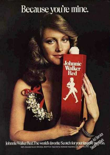 "Johnnie Walker Red ""Because You're Mine"" (1972)"