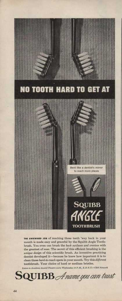 Squibb Angle Toothbrush (1942)