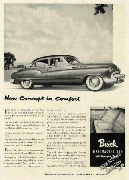 Buick Roadmaster 130 With Dynaflow Drive (1950)