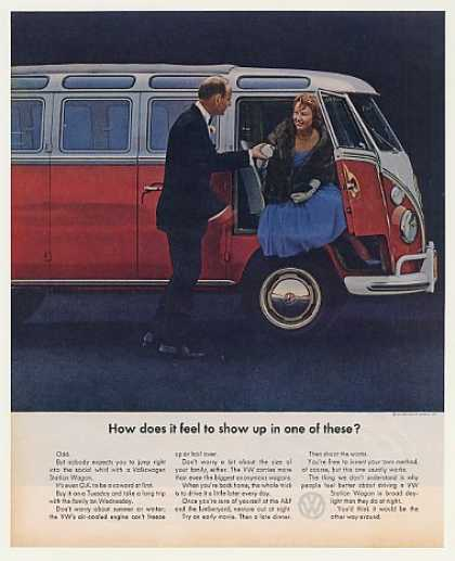 VW Volkswagen Station Wagon Feel to Show Up (1963)