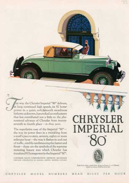 Chrysler Imperial, USA (1927)