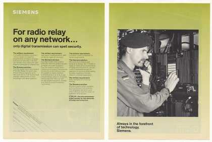 Siemens CTM 200 Digital Radio Relay System (1986)