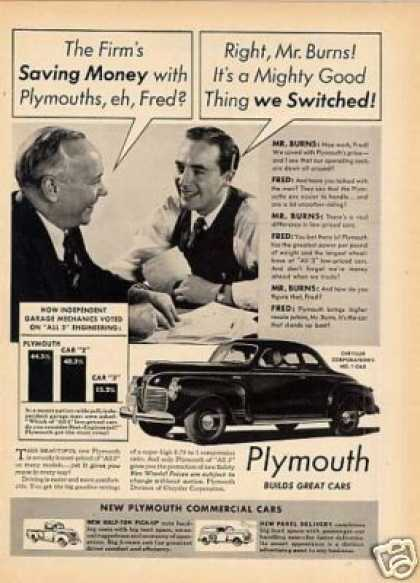 Plymouth Car (1941)