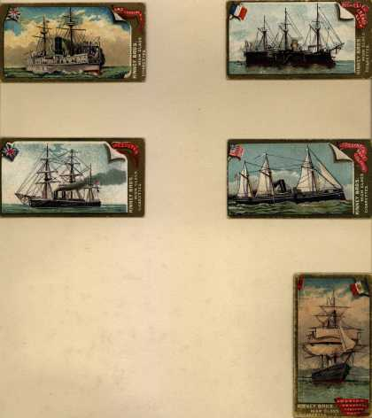 Kinney Bros.'s High Class Cigarettes – Naval Vessels of the World – Image 2