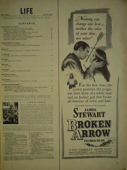 Movie Broken Arrow James Stewart (1950)