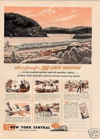 New York Central Railroad (1950)
