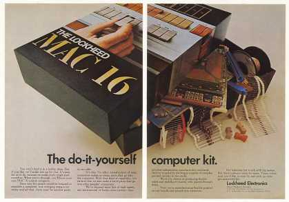Lockheed Electronics MAC 16 Computer Kit (1970)