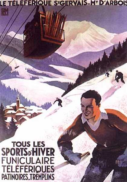 St. Gervais by Roger Broders (1930)