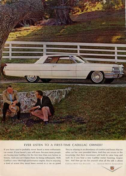 Cadillac 2-door Hardtop White (1964)