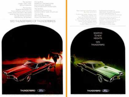Ford Thunderbird (2 Ads) (1970)