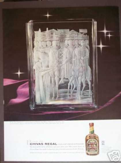 Robert the Bruce Crystal Chivas Regal Scotch (1960)