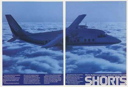 Shorts 360 Advanced Airliner Aircraft 2-Page (1986)