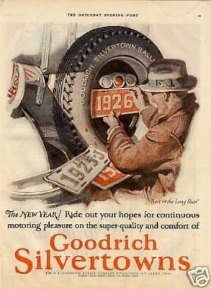 B.f. Goodrich Tire Color (1926)