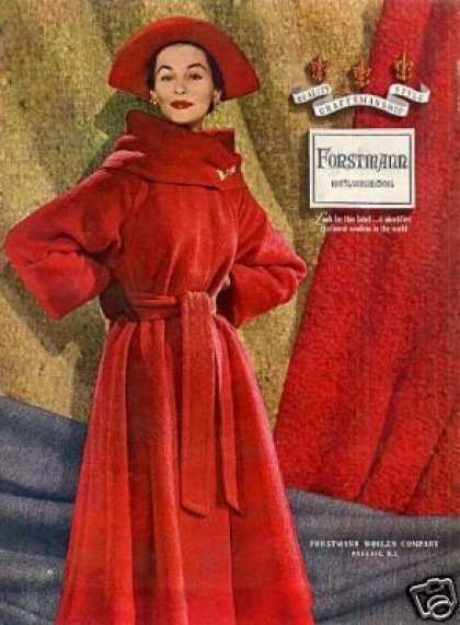 Forstmann Ladies Fashion (1952)
