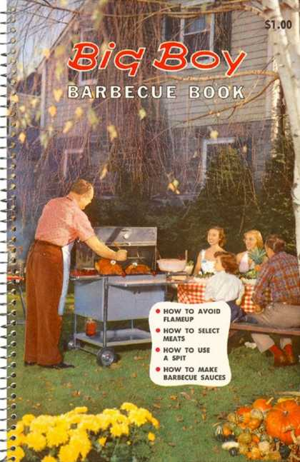 Big Boy Barbecue Book, Book Cover