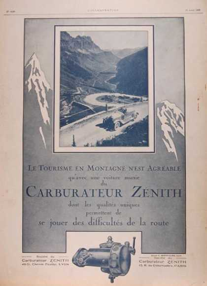 Zenith Carburaters (1923)