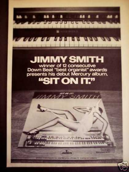 Musician Jimmy Smith 'sit On It' Music (1977)